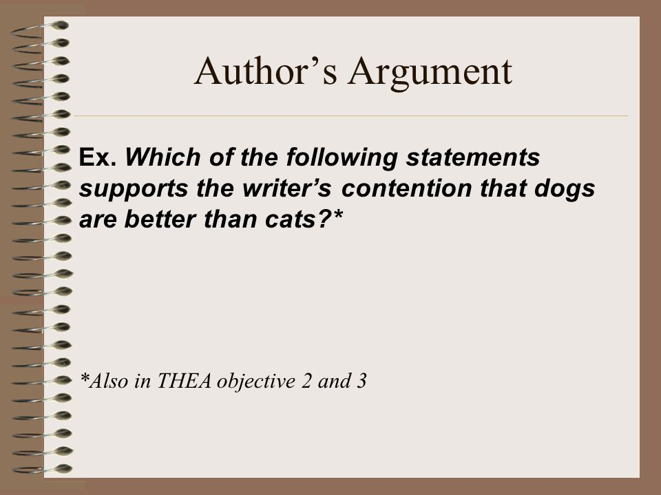 an argument in favor of the debate that dogs are better than cats Dogs vs cats: your best arguments adam dachis 3/11/14 8:00pm but you will find way more friendly dogs than cats and that's a lot better than choosing a.
