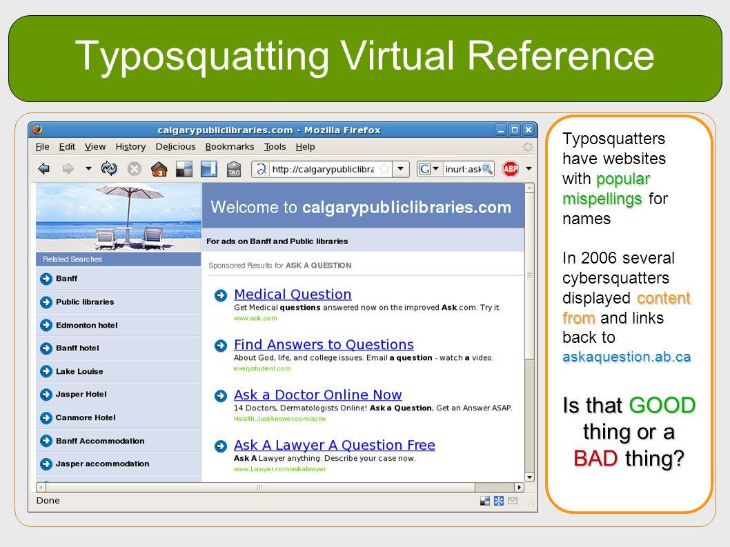 Typosquatting Virtual Reference