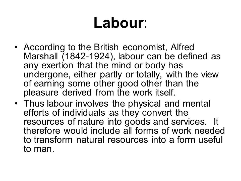 Labour: