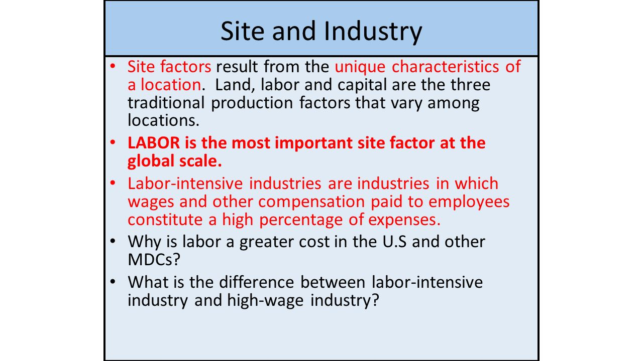 ch 11 industry key issues ppt download