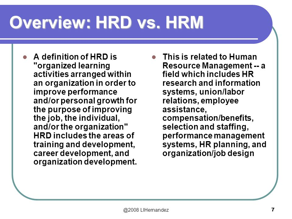 hrm the difference between hrm and Difference between personnel and hrm - download as pdf file (pdf), text file (txt) or read online hrm.
