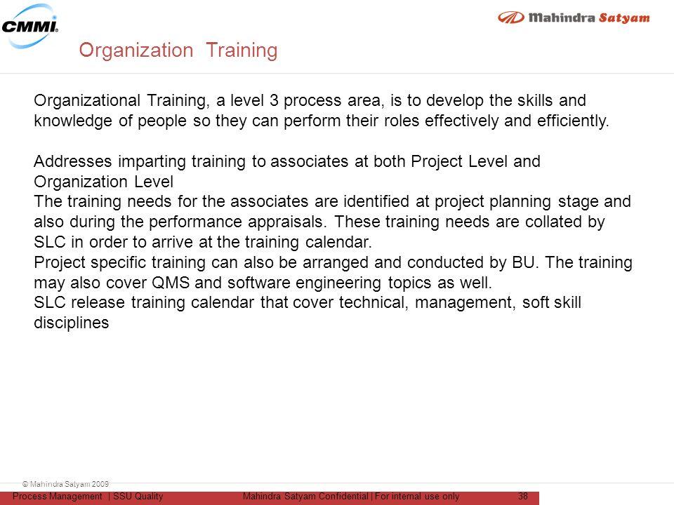 "Organization Training Calendar : Training on ""cmmi for development ver ppt download"