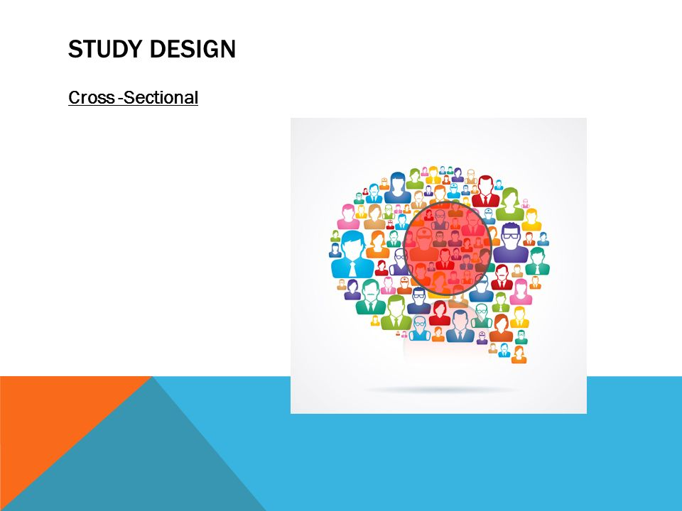 how to design a cross sectional study