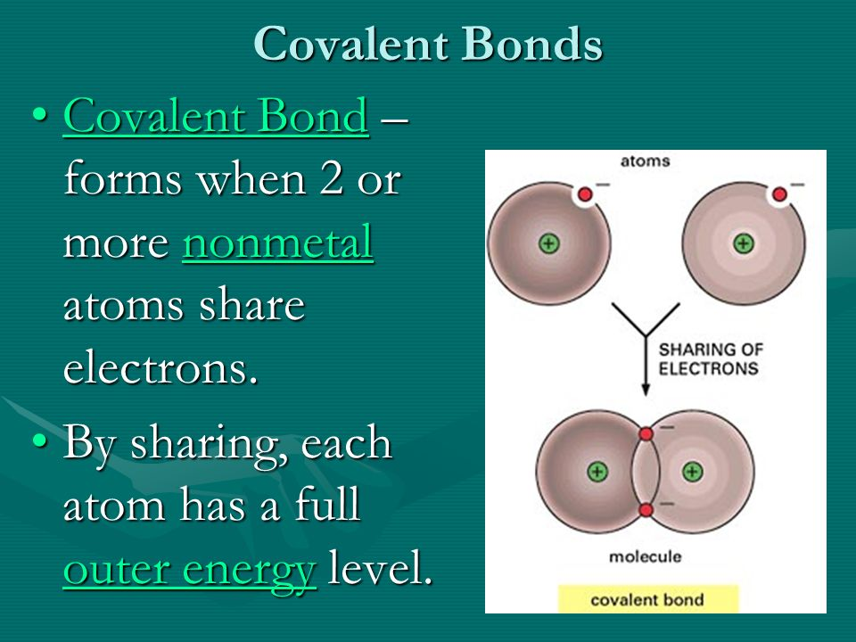 Covalent Bonds Chapter 1 Section ppt download