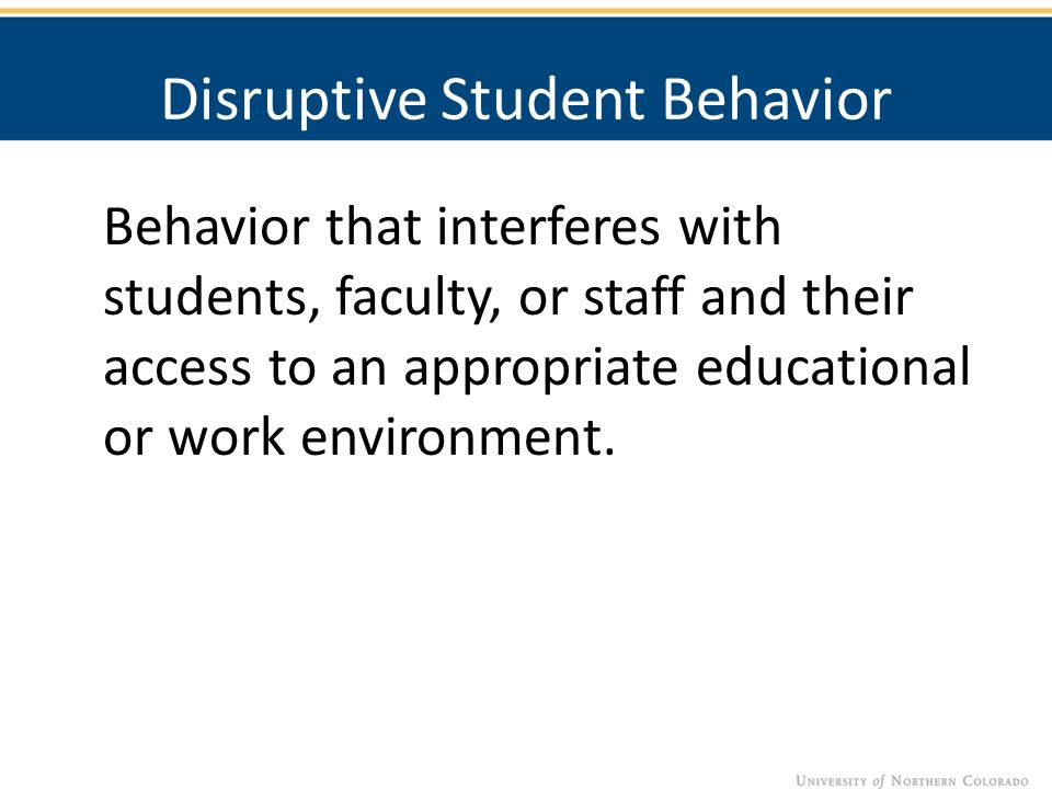 erratic behavior examples
