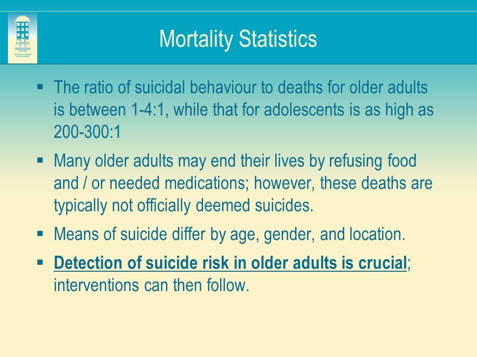 Mortality Statistics