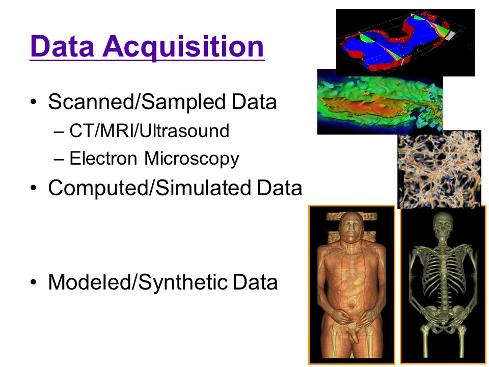 Computed Tomography Data Acquisition : Lecture visualization basics ppt video online download