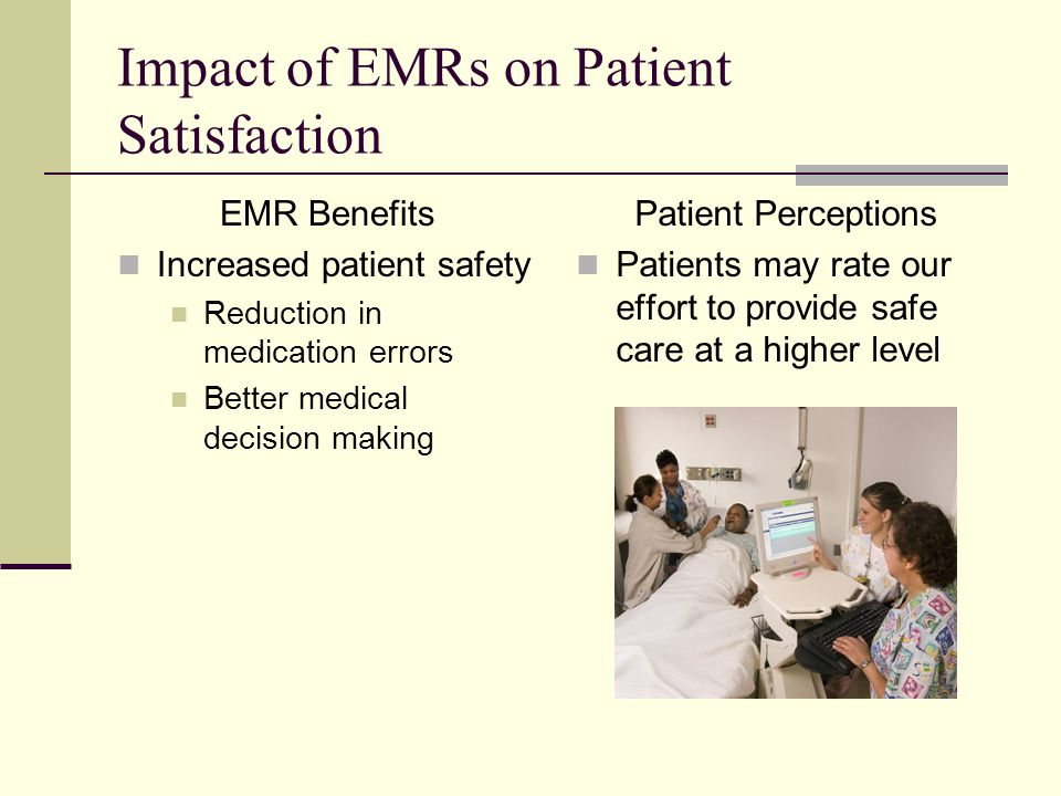 the impact of electronic patient on patient A medical record in paper or electronic format provides a written account of a patient's medical history, containing information about diagnosis, treatment, chronological progress notes and discharge recommendations a whole raft of legislation, standards and guidance on what has become known as.