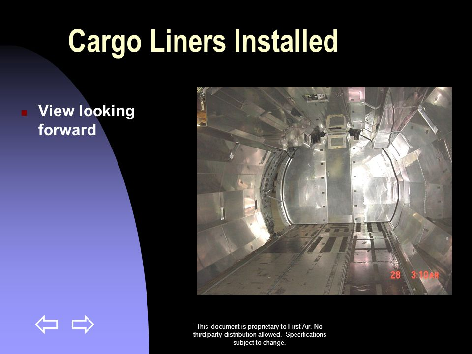 Cargo Liners Installed