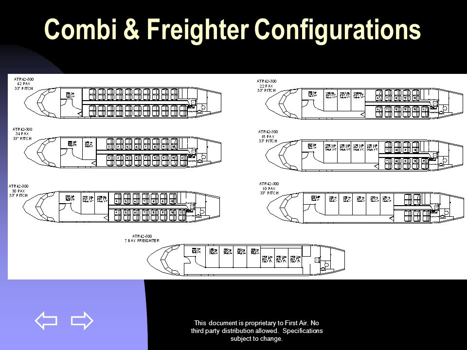 Combi & Freighter Configurations