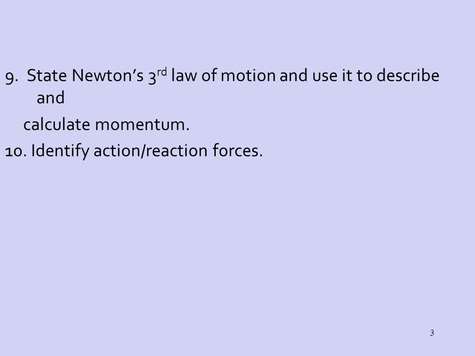 station lab newton s laws of Observation skills to determine newton's third law of motion for every action  there is a reaction for every force there is an equal and opposite force materials  needed:  each station should have an instruction sheet with helpful illustrations.