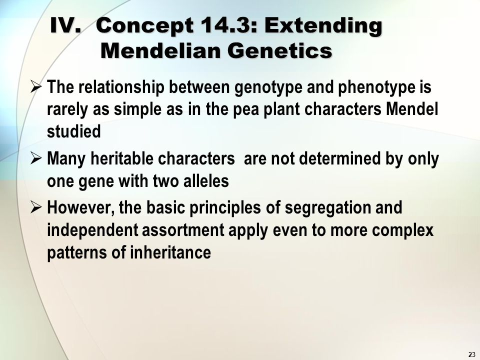why is the relationship between genotype and phenotype complex