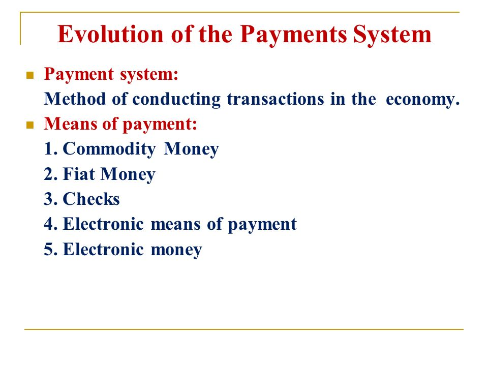 features of electronic payment system pdf