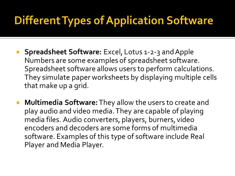 Different Types Of Software Custom Paper Service