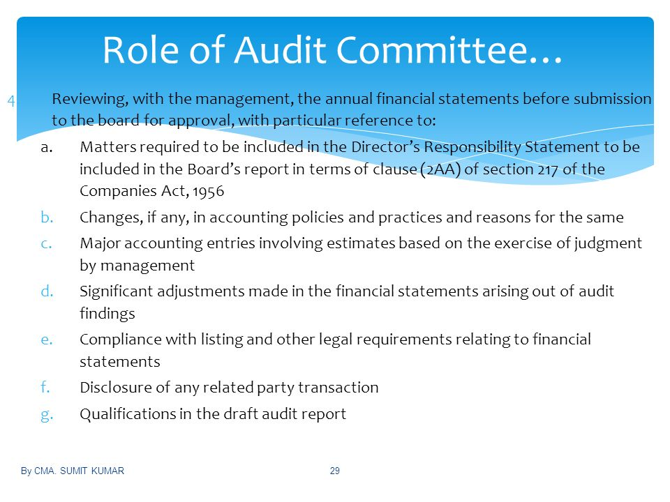 judgment role in financial statements In the case of financial reporting, the issue is the influence that a  of the concept  in ifrs the importance of management's use of judgement.