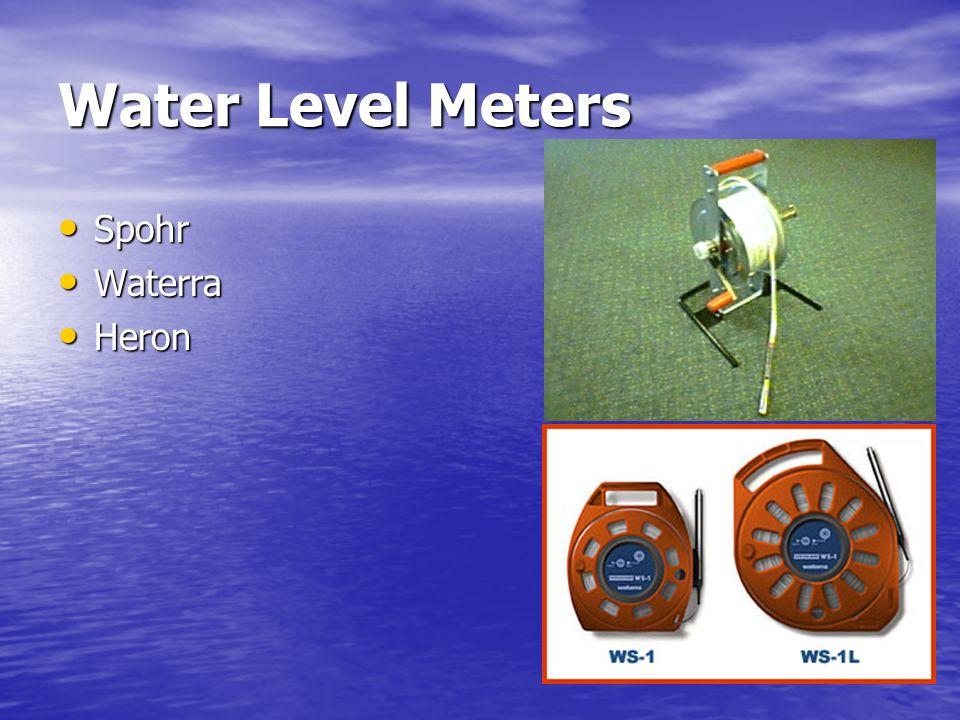 Water Level Meters Spohr Waterra Heron