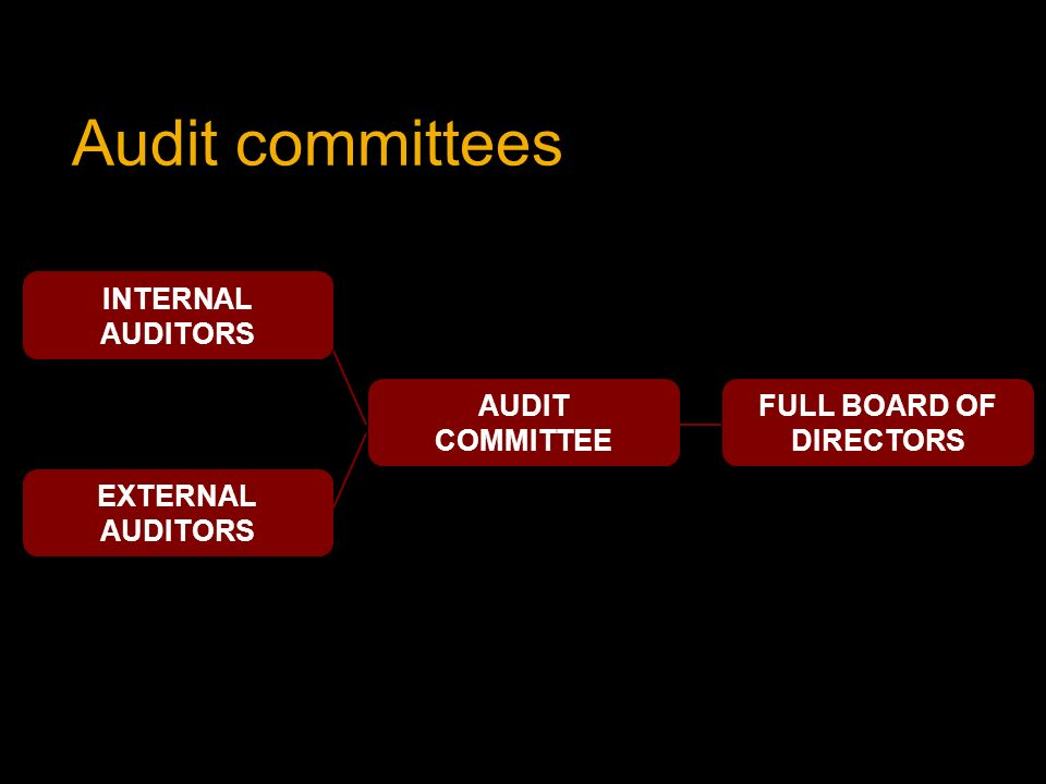 board of directors and audit committee The board of directors and audit committee guide to fiduciary responsibilities: ten crtical steps to protecting yourself and your organization ebook: sheila moran.