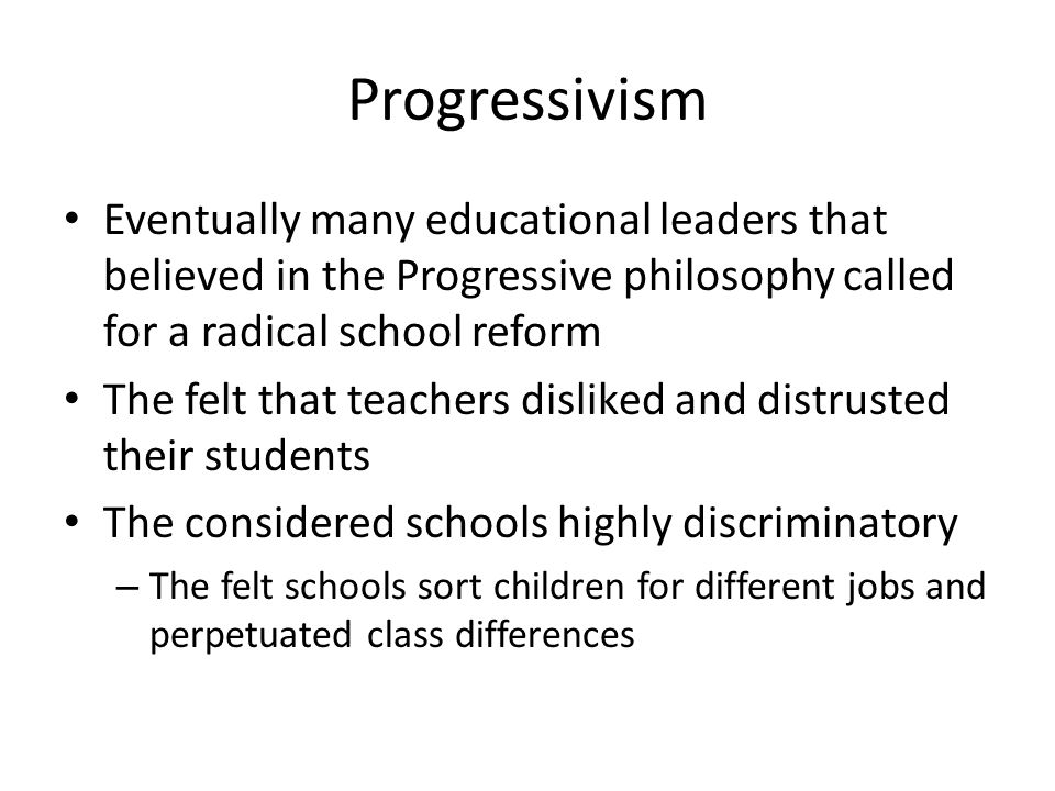 a comparison of different teaching philosophies essantialism and progressivism in education Start studying educational philosophies learn vocabulary philosophies of education (pepp) perennialism, essentialism, progressivism.