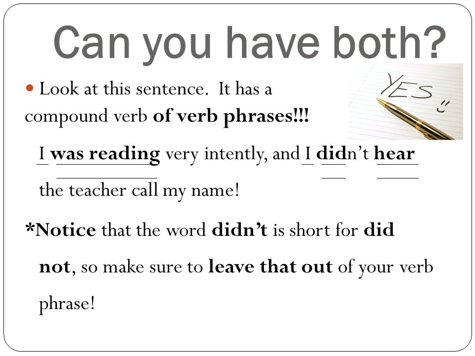 Can You End a Sentence With a Verb? - k12reader.com