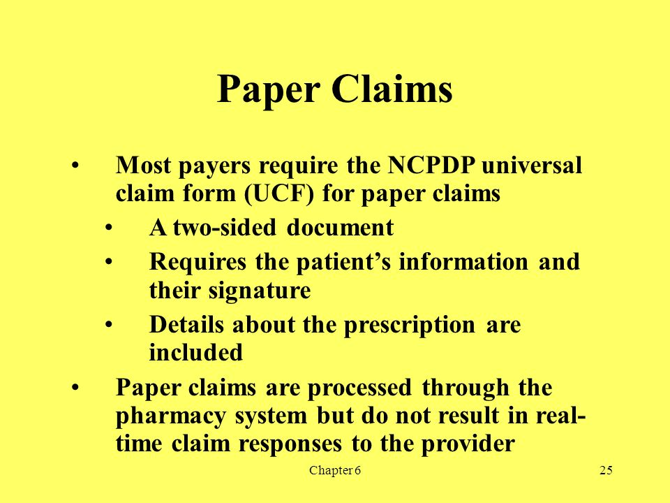 Claim Preparation and Transmission Chapter 6 - ppt download