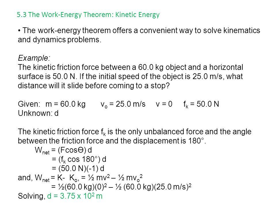 Work Energy Theorem Equation Jennarocca – Work Energy Theorem Worksheet