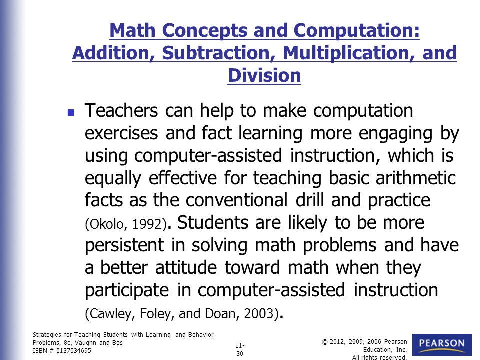 Unique Math Fact Drill Frieze - Math Worksheets - modopol.com