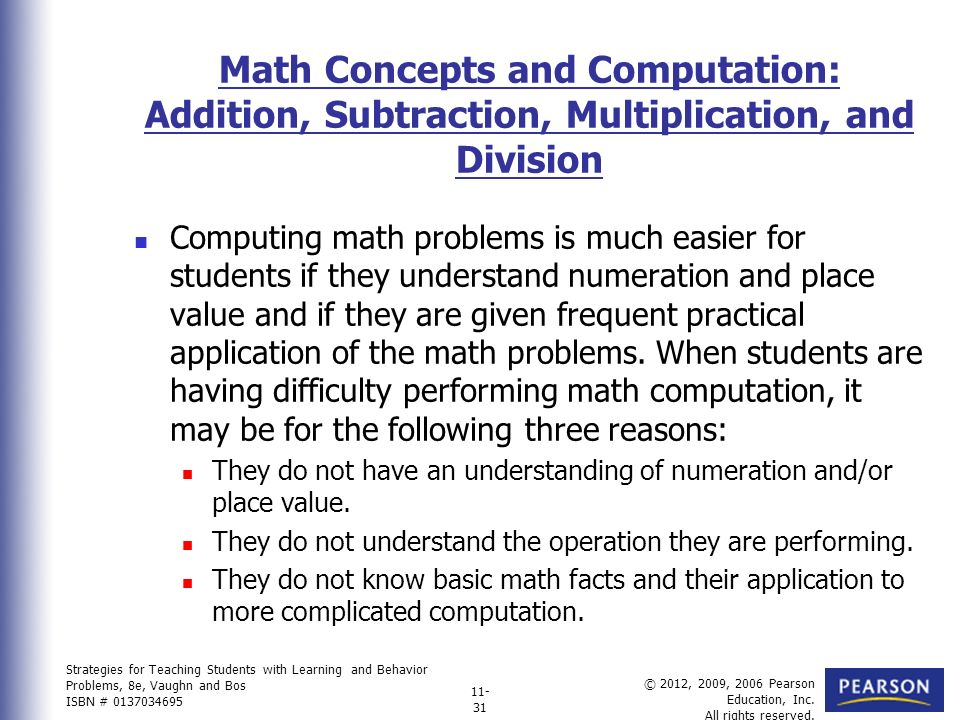 Charming Math Computation Problems Images - Math Worksheets ...
