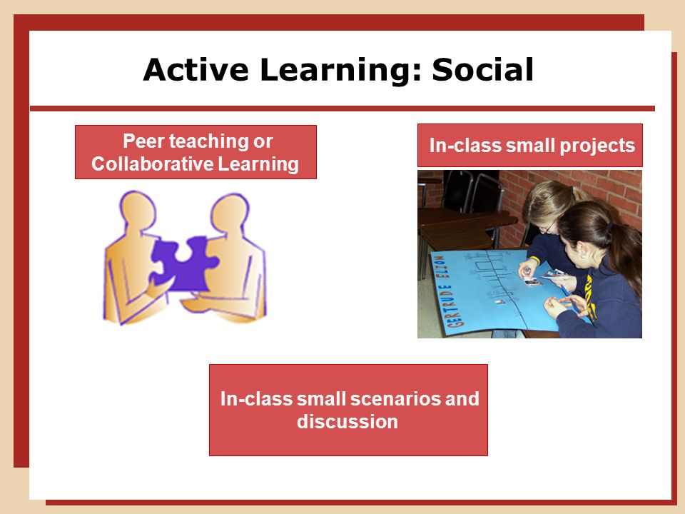 Deeper Learning A Collaborative Classroom Is Key ~ Learning experiences using active ppt download