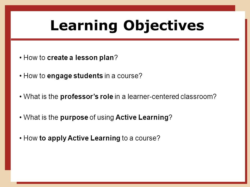 Essentials of Writing Impactful Learning Objectives - td.org