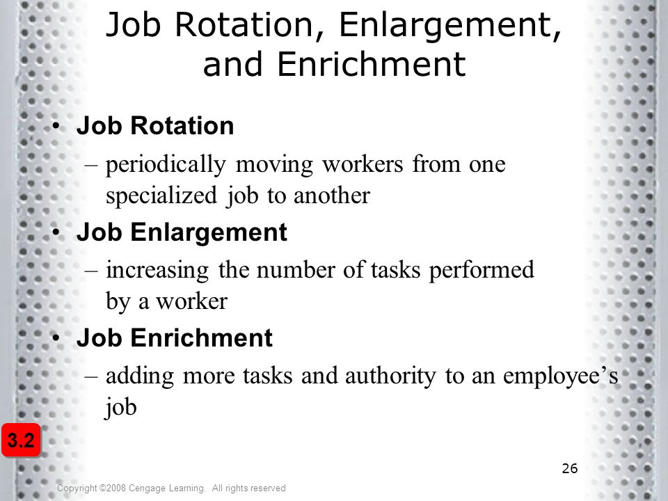 importance of job enlargement