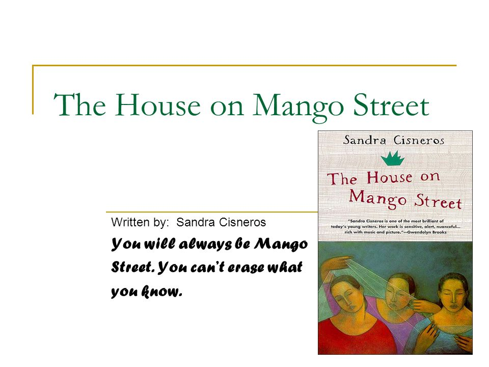 House on Mango Street Writing Project