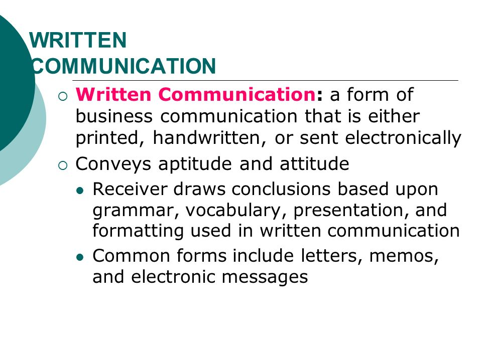 formal written communication The role of grammar in improving student's writing are essential for the clear communication of to consider how formal or informal the writing.