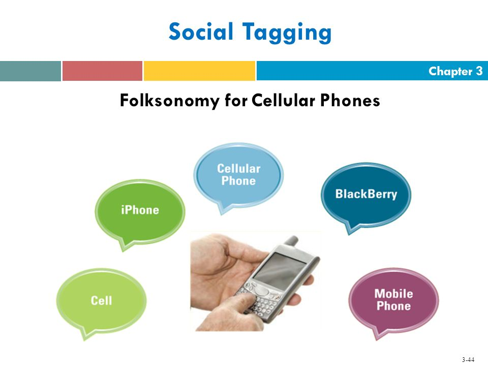 Folksonomy for Cellular Phones