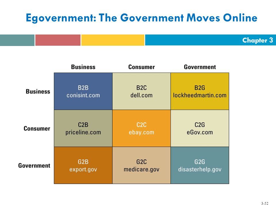 Egovernment: The Government Moves Online