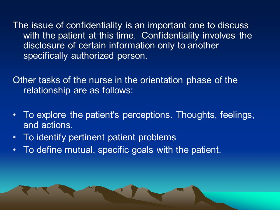 the importance of the nurse patient relationship Whilst verbal communication is an imperative part of building the relationship between nurse and patient it is also just as important between nurse and colleague.