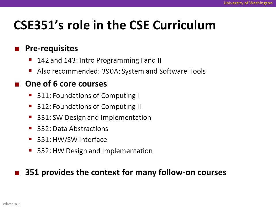 the role of cse for the Role of computer science i'm a computerscience guy in my role as a computerscience guy, i study computation, communication, calculation, and the properties thereof.