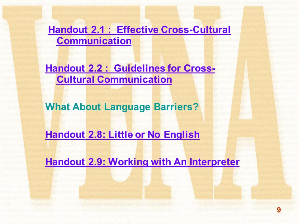 effective cross cultural communication pdf