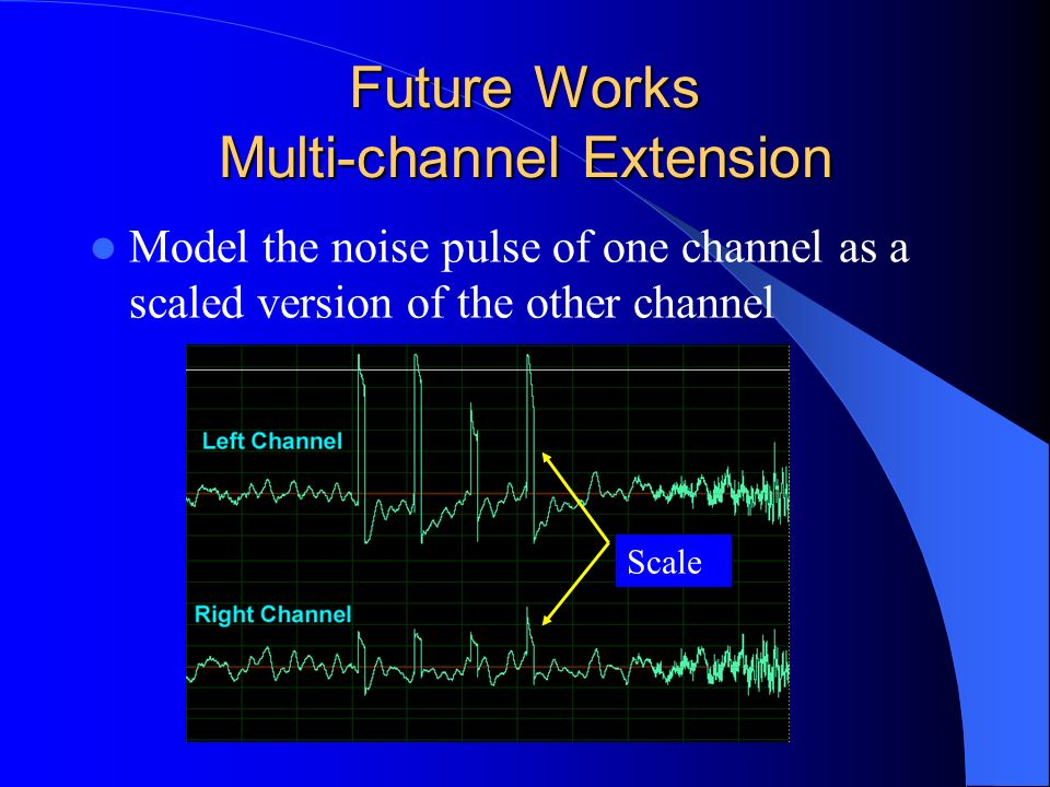 Future Works Multi-channel Extension