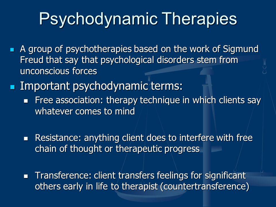 transference and countertransference in psychodynamic approaches to counselling Countertransference, which occurs when a therapist transfers emotions to a  person in therapy, is often a reaction to transference,.