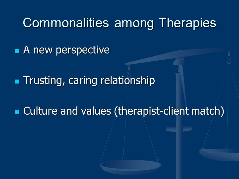 how do culture and values influence the therapist client relationship