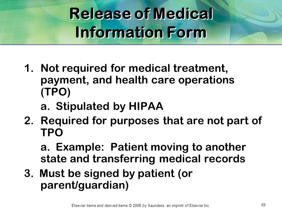 Chapter 1 The Medical Record. - Ppt Download