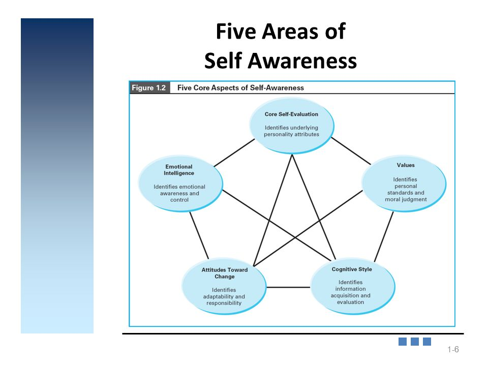 The importance of self awareness to improve the personality skills and value of an individual