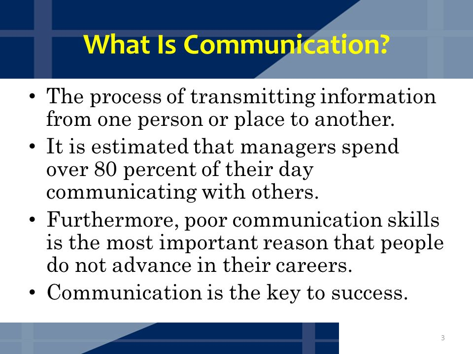how is sound communicated from one person to another Communicating is easy, but communicating well takes skill  bore people and  discredit you, causing your message to get lost in a cloud of noise  whether the  conversation is with one person or many, good  everyone comes from a  different background, so everyone associates different words, phrases.