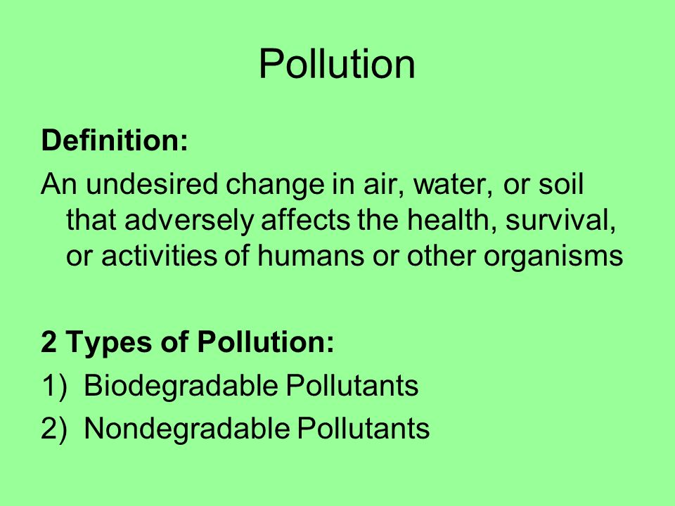 Our environment through time ppt download for Soil pollution definition