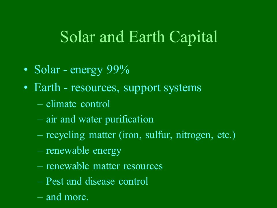 Solar and Earth Capital