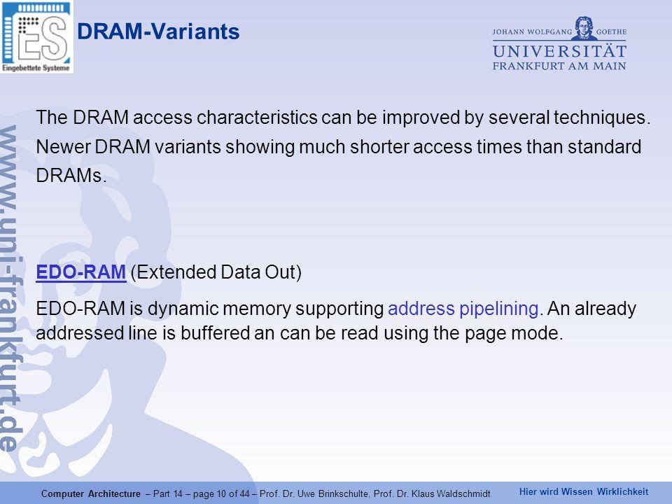 DRAM-Variants