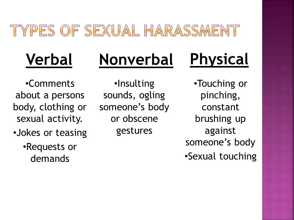 Types Of Sex - Healthy Respect