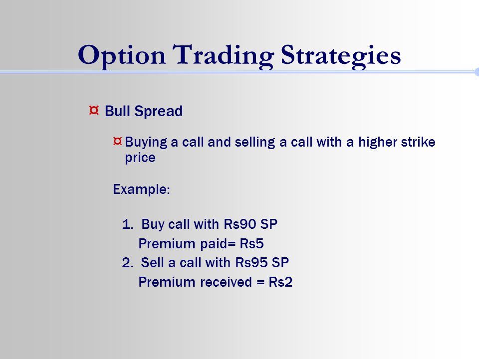 Spread trading strategies stocks
