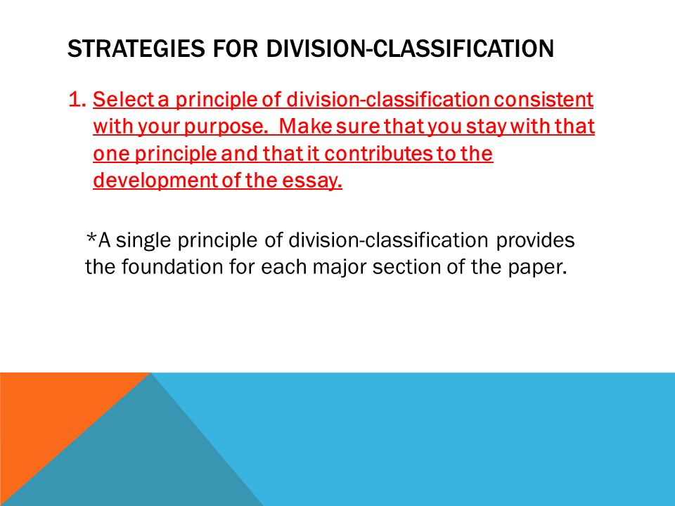 unit division classification ppt video online  strategies for division classification