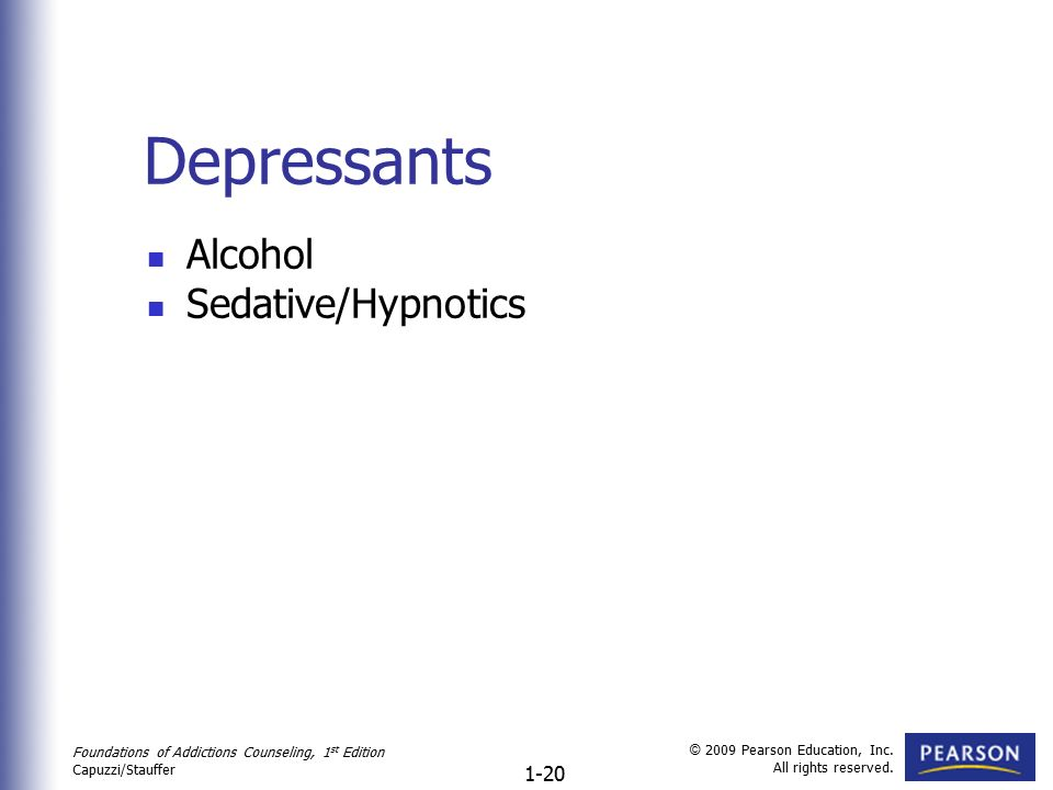 depressants alcohol - photo #16